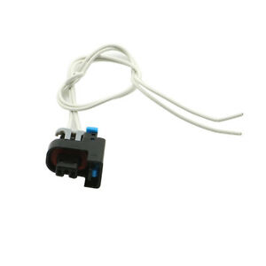 1x Fuel Injector Connector Harness 2 Way 2 Pin Pigtail For Gm Replace Pt2135