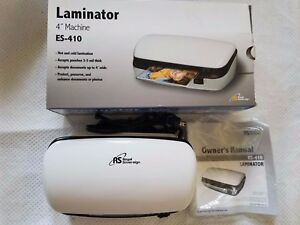 Royal Sovereign Es 410 4 Personal Pouch Laminator Used