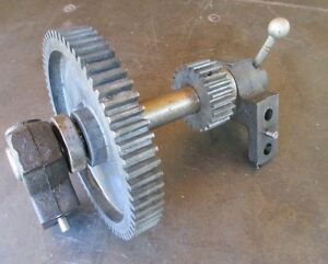 Atlas Craftsman 10 12 Lathe Back Gear Assembly In Great Shape