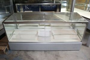 27 75 X 22 X 72 Jewelry Showcase Retail Display Case Led Lighting