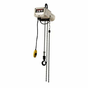 Jet Jsh 550 10 1 4 Ton Electric Chain Hoist With 10 Lift 115v
