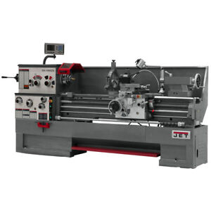 Jet Gh 1660zx Large Spindle Bore Lathe With Acu rite Vue Dro With Collet Closer