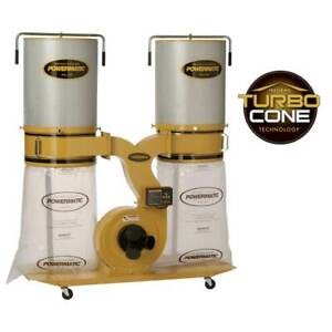 Powermatic Pm1900tx ck1 Dust Collector W Canister Kit 3hp 1ph 1792072k