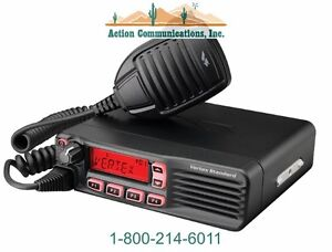 New Vertex standard Vx 4600 Uhf 400 470 Mhz 45 Watt 512 Channel Mobile Radio