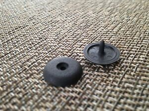Seat Belt Stop Button Clip Stopper Universal Kit Fits Any Honda In Grey Color