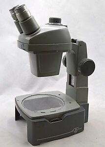 Bausch Lomb Stereozoom Microscope 0 7x 3 0x With 20x Eyepieces