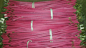 X1000 Power Pig Tail Lead Wire 10061 Wire 8 12awg Red 10 Fork 5 8 Strip