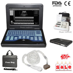 Portable Digital Ultrasound Scanner Machine Cardiac Echo Probe Diagnostic System
