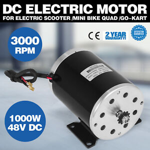 1000w 48 V Dc Electric Motor F Bicycle Bike Scooter Ty1020 Gear Reduction