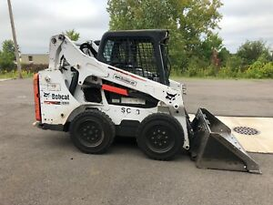2 2014 Bobcat S530 Skid Steers With Bucket 4 300 4 700 Hours