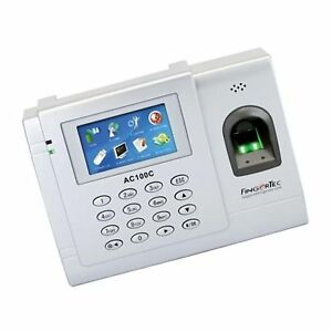 Fingertec Color Biometric Time Attendance System For 3000 Fingerprints Ac 100c