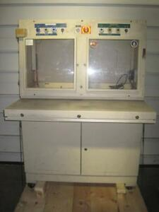 Brabender Cabinet Hoffman Enclosure Design line Type 12 Control Panel Enclosure