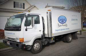 Used Vortex Carpet Cleaning Truck