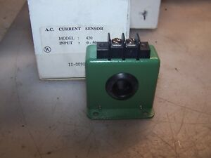 New Katy Instruments 50 Amp Ac Current Sensor Model 420 50 5 40 Vdc