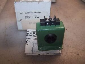 New Katy Instruments 100 Amp Ac Current Sensor Model 420 100 5 40 Vdc
