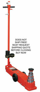 Norco 55 37 23 12 Ton Air Hydraulic Mobile Telescopic Floor Jack Lift