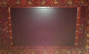 New Listing large Cowhide Leather Desk Pad Blpotter Usa Made 34 X 30