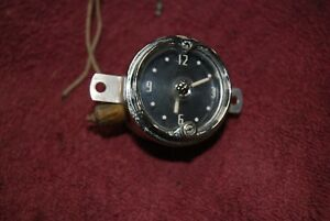 1952 53 Mercury Dash Clock Nice Original