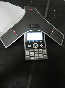 Polycom Soundstation Ip7000 2201 40000 001 Conference Phone For Repair
