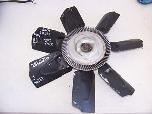 1968 69 70 71 Dodge Plymouth 383 440 Hemi 6 Pack Fan Oem 2863216 Charger Gtx