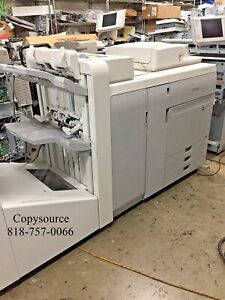 Canon Imagepress Color C800 Copier printer fin Large Pod server G100 trimmer