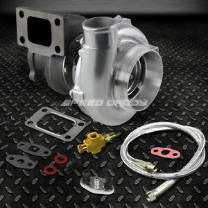 Gt3037 Gt3076r T3 73 A R Gt30 6 8 500 Hp Polished Turbo Charger 36 Oil Feed Line