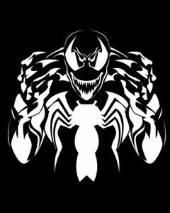 Venom Spider Vinyl Decal sticker For Car Truck Bumper Wall Decor Comics