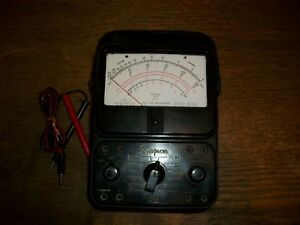 Vintage Simpson Model 260 Series 6 Volt Ohm Meter Tested Working