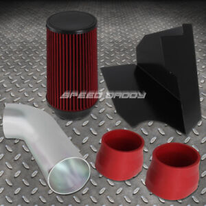 For 96 00 Chevy gmc Gmt400 5 0l 5 7l V8 Cold Air Intake heat Shield red Filter