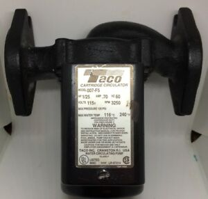 Taco 007 f5 Cartridge Circulator Pump 007 F5 F4 F3 Boiler Pump