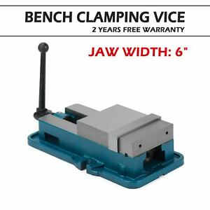 6 Accu Lock Precision Vise Milling Drilling Machine Bench Clamp