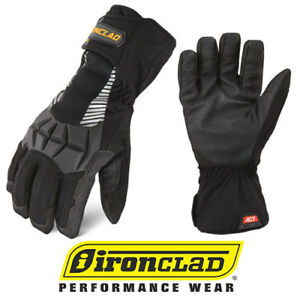 Ironclad Tundra Premium Waterproof Insulated Work Gloves Select Size