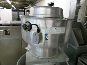 Used Captive Aire Exhaust Fan For Hood 208v 3ph Job 214033