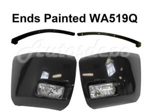 Painted Wa519q Front Bumper Ends Fog Light Filler For Silverado 1500 2008 2010