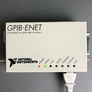 Ni National Instruments Gpib enet Ethernet To Ieee 488 Controller P n 181945 01