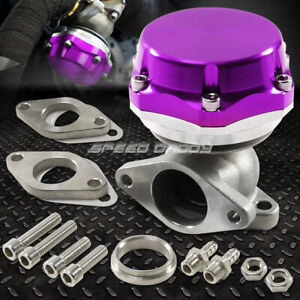35mm 38mm Turbo Charger Manifold Purple 8 Psi Compact 2 bolt External Wastegate