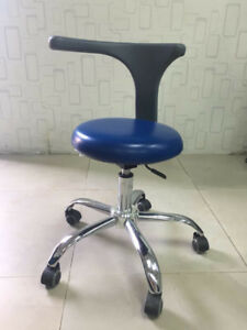 Dental Medical Dentist s Stool Doctor s Stool Adjustable Mobile Chair Pu Leather