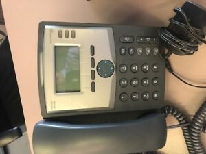 Cisco Spa303 g1 3 line Voip Phones Lot Of 8