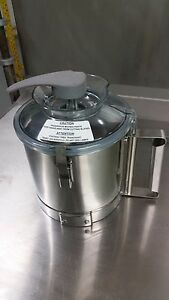 New Stainless Steel Bowl For Robot Coupe Blixer 3 Blade