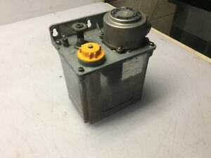 Lube Corp Automatic Lubricator Mmxl ii 200v 15 Min Interval Used Warranty
