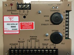 Esd5403 Engine Speed Control authentic Governors America Corp gac