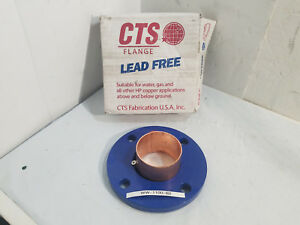 New Cts Copper Flange Adapter 150lb 3 Bf003
