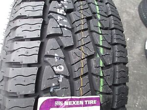 4 New 255 70r17 Inch Nexen Roadian At Pro Tires 2557017 255 70 17 R17 70r