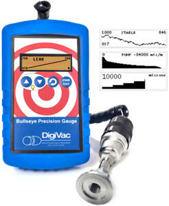 Digivac Bullseye Portable Precision Vacuum Gauge With Visual Real time Analytics