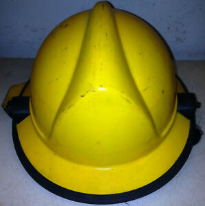 Firefighter Bunker Turn Out Gear Yellow Helmet Reflector Hlf Plus H108