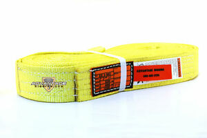 Ee2 902 X20ft Nylon Lifting Sling Strap 2 Inch 2 Ply 20 Foot Usa Package Of 4