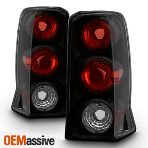 Fits 2002 2006 Cadillac Escalade Black Smoked Tail Lights 2003 2004 2005