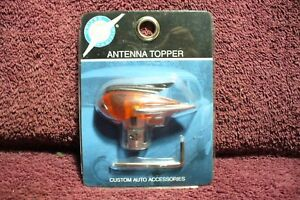 Vtg Nos 40s 50s Style Antenna Topper Auto Truck Motorcycle Hot Rod Accessory 3