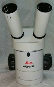 Leica Wild Heerbrugg M3z Stereo Zoom Microscope