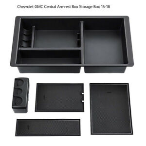 Center Console Organizer Tray For Chevy Silverado Gmc Sierra Yukon 2015 2018